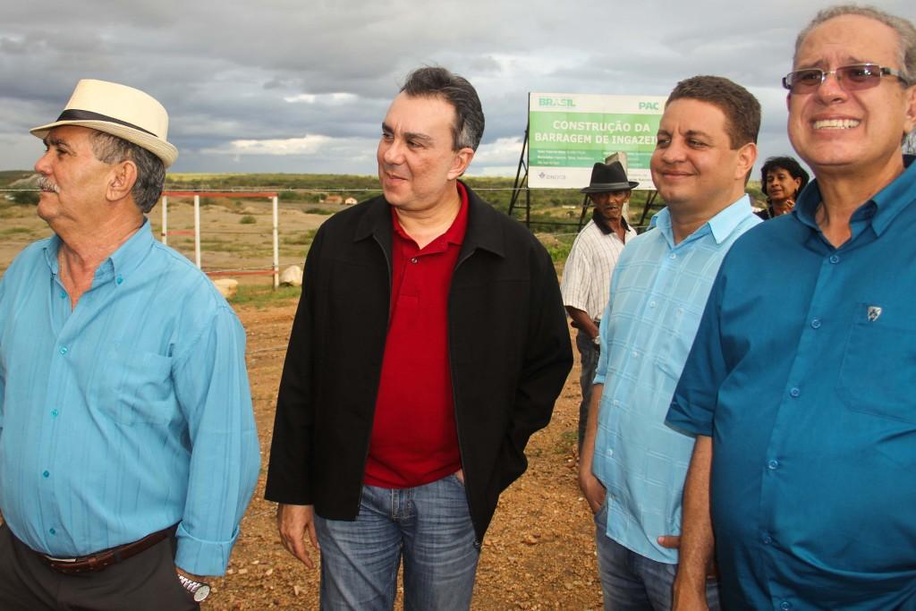Ricardo Teobaldo garante continuação das obras da Barragem de Ingazeira