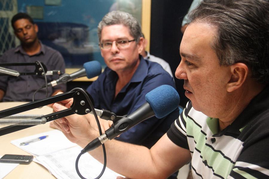 Durante entrevista Ricardo Teobaldo destacou sua atuação em Brasília e sua relação com o governo de Pernambuco.